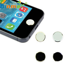 O 2Pcs Metal Home Button Keypad Sticker Key Post for iPhone wholesale(China)