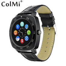 Colmi Smart Watch VS201 Bluetooth 3.0 Full Round Smartwatch For IOS Android Phone pk dz09