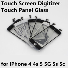 Cheap Touch Screen Digitizer Front LCD Display Touch Panel Glass Lens Touchscreen for iPhone 4 4s 5 5G 5s 5c Replacement Parts