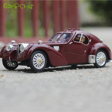Vintage Car Toy Alloy Model Pull Back Car Alloy Die Casting Child Toy Gift Metal Classic Car Model
