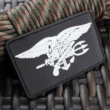 US NAVY SEAL TEAM TRIDENT LOGO 3D PVC TACTICAL ARMY MORALE RUBBER PATCH