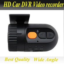 Mini Wide Angle HD 1080P Car DVR with DVD connectoer video and audio Recorder Dash Camera Video Register G-sensor(China)