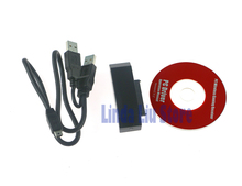 5pcs/lot  New black Hard Driver HDD Data Transfer USB Cable For XBOX360 xbox 360 Slim