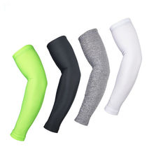 Compression Running Cycling Arm Warmer Sun UV Protection Basketball Volleyball Golf Sports Arm Sleeves Bicycle Bike Arm Covers