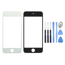 Replacement New For iPod Touch 5 5G 5th Front Outer Screen Glass Lens Panel + Free Repair Tools, Free Shipping&Tracking Number(China)