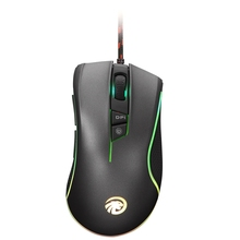 New Original FMOUSE F300 Programmable Wired Optical Gaming Mouse 7 Button USB Receiver For Laptop Computer Gamer Mouse