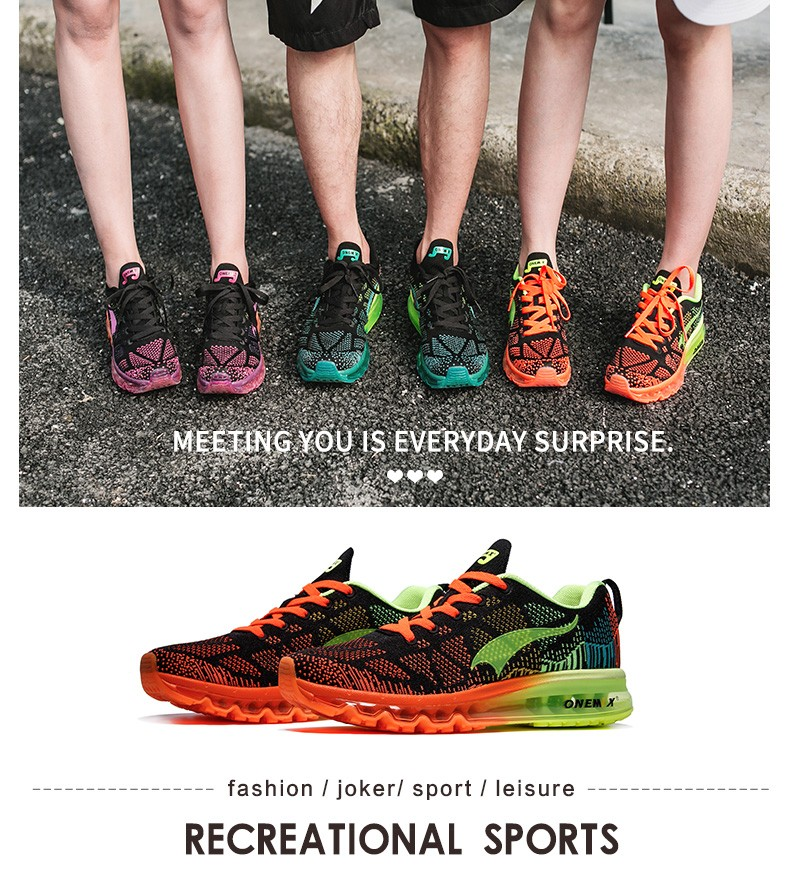 ONEMIX Women Running Shoes Weave Breathable Sport Shoes Air Cushion for Women 17 New Sneakers Athletic Outdoor Sport Shoes 8