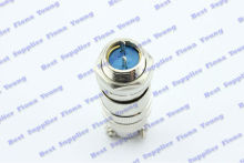 5 pcs\lot Electrical 2 Pin XLR plug Aviation 12mm Radio Blue PCB Mount High Quality Connectors Free Shipping(China)