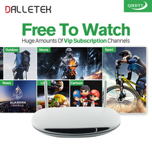 Dalletektv Android Europe French Turkish Netherlands IPTV Box 1200 Plus Sport Africa Channels Strong Wifi IPTV Set Top Box(China)