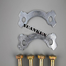 XUANKUN JD100 High Strength Screw Type Motorcycle Rim Motorcycle Sprocket Chain Plate Wire Disc Posterior Screw