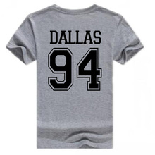 Vsenfo Men T Shirt Cameron Dallas Dez Bryant T-Shirt Unisex Summer Short Sleeve Tops Casual Man Tumblr Tee Shirt Homme(China)