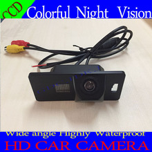 CCD Chip CAR REAR VIEW CAMERA Reverse With Guide Line for AUDI A1 A4 (B8) A5 S5 Q5 TT/ PASSAT R36 5D