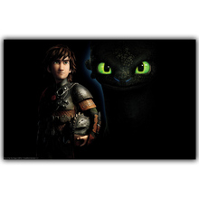 How to Train Your Dragon 2 Classic Retro Movie Poster Home Decorative Painting Art Print Poster Wallpaper DY1143(China)
