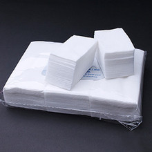 900pcs/pack White Nail Art Wipes UV Gel Nail Polish Remover Cleaner Cotton Lint Pads Paper Manicure Tools(China)