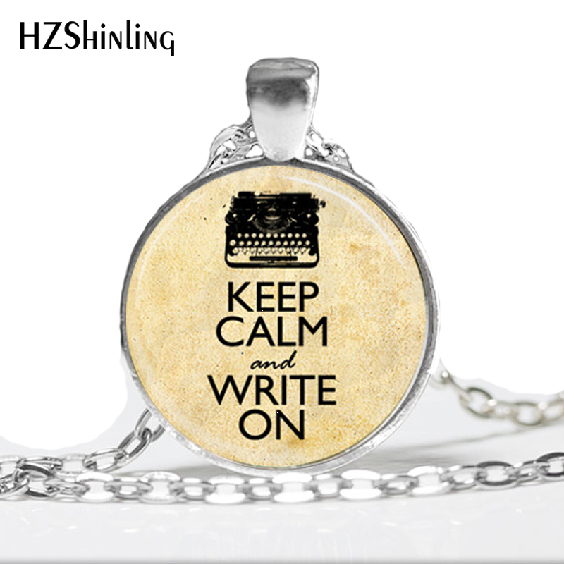 Fashion Necklaces For Women 2014 Typewriter Necklace Keep Calm And