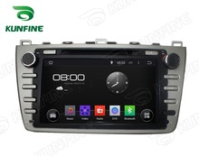 Quad Core 1024*600 Android 5.1 Car DVD GPS Navigation Player Car Stereo for MAZDA 6 2008-2012 Radio Wifi Bluetooth