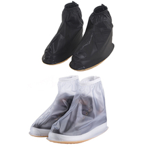 Buy THINKTHENDO Waterproof Rain Shoes Cover Men Women Shoes Reusable Boots Flat Overshoes Covers Slip Resistant for $5.10 in AliExpress store