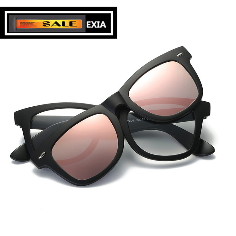 Optical Glasses Unisex Men and Women with Sunglasses Lenses Frame TR-90 Super Flexible EXIA OPTICAL KD-2206 Series<br><br>Aliexpress