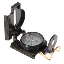 3 in 1 Hunting Army Camping Survival Lens Lensatic Compass Outdoor(China)