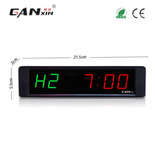 "[Ganxin]1"" Promotional and Special Automatic Led Fitness Timer Manufacturer Training Rest Time Alternate"