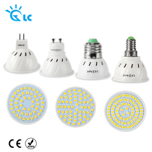 New Arrival SMD 2835 GU10 E27 E14 MR16 LED Lamp 220V 230V 240V LED Spotlight 48leds 60leds 80leds Light Bulbs LED for Chandelier
