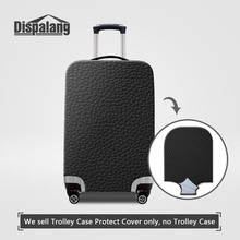 Dispalang Black Leather Sofa Design Travel On Road Luggage Protective Cover Case For A Suitcase Dust Rain Covers For 18-30 Inch