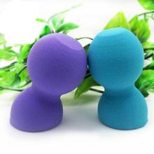 as the picture shows 1pc Pro Makeup Foundation Beauty Flawless Dumbbell Sponge Puff non latex sponge Anne