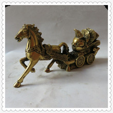 Free delivery copper horse DESAY business gift craft jewelry gorgeous bronze immediate home feng shui jewelry(China)