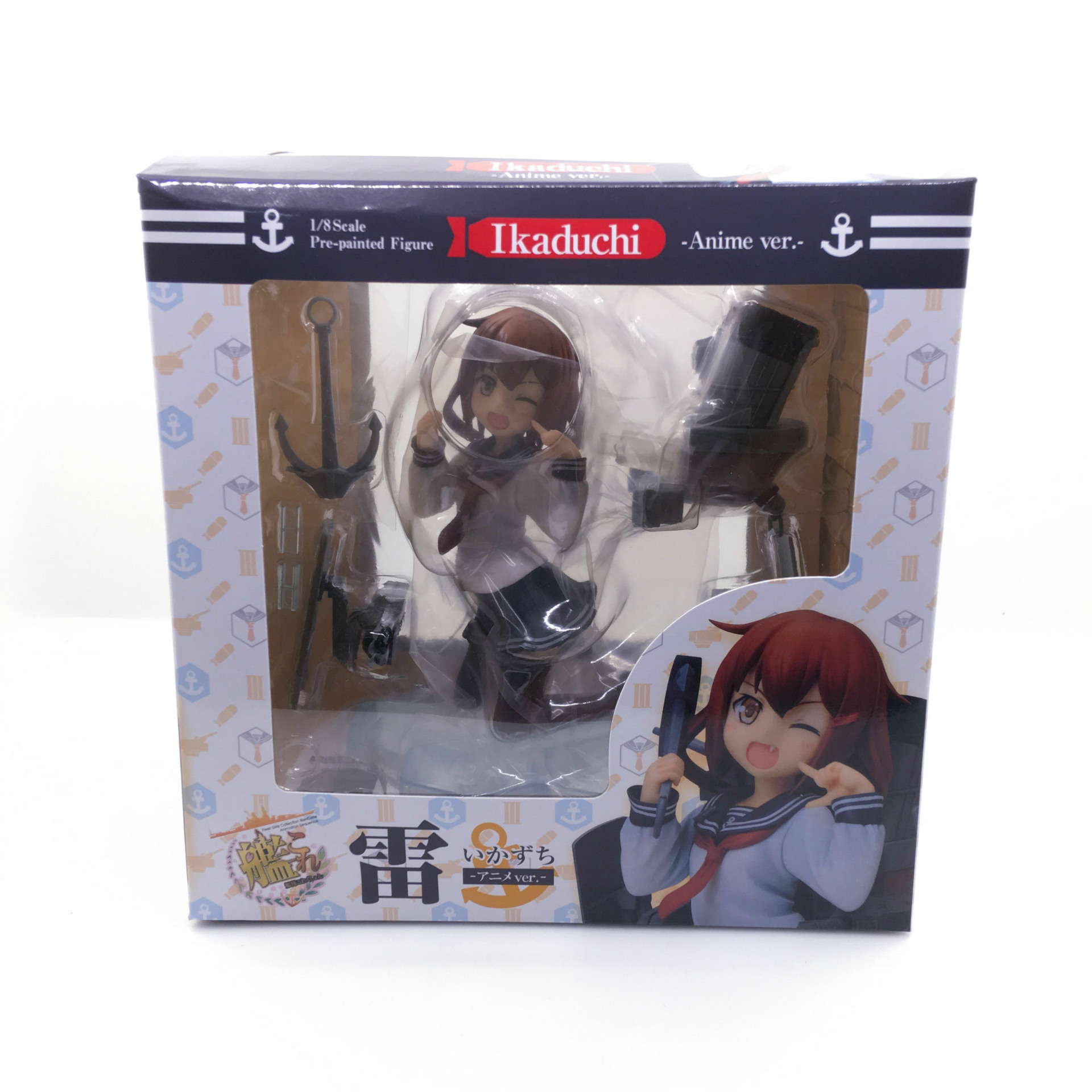 Kantai Collection Ikazuchi Ver. 18 Scale Pre-painted PVC Action Japanese Anime Figures Collectible Model Toys Doll 12CM New (1)