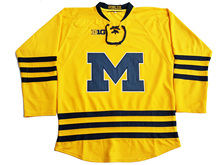 University of Michigan  Custom your name and number Stitched Hockey Jersey or Blank Jerseys