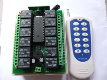 12V12 Road No. twelve wireless remote control switch controller of motor power salute remote control switch(China)