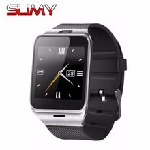 Slimy SIM Bluetooth Smart Watch GV18 Smartwatch for iPhone Samsung S4/Note/s6 HTC Android Phone Cheapest Smartwatch in Stock