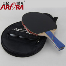 POINT BREAK Students match authentic table tennis single samsung century dawn ping pong rackets wholesale base plate(China)