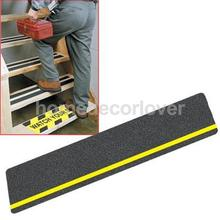 5Pcs Safety Stair Floor Grip Tape Anti Slip Sticker Adhesive with Reflective Strip