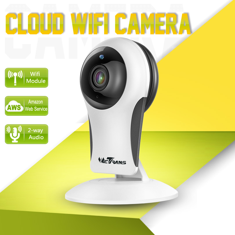 Wetrans Wifi CCTV Audio Camera Home Security HD 960P 10m IR Night Vision P2P Cloud Storage Smart Wifi Wireless IP Web Camera<br>