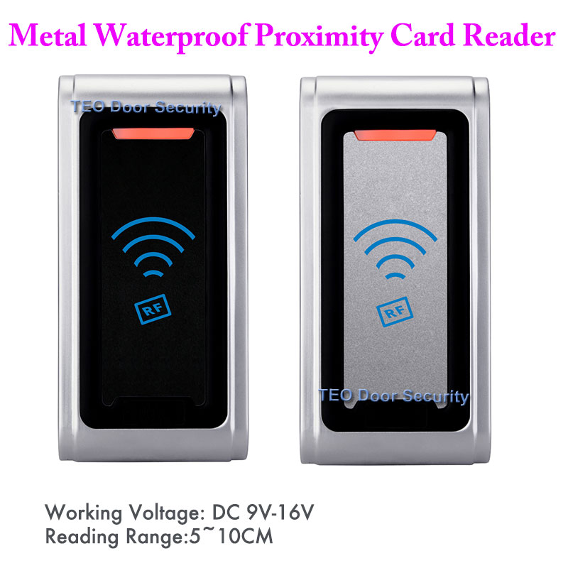 RFID Readers Access Control Metal Weatherproof Access Control Reader IP68 WG26 WG34 Metal Shell outdoors applied RFID reader<br>