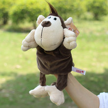 Hot Sale Plush Puppet Orangutan Hand Puppets Doll Monkey Parent-child Interactive Games Toys Best Birthday Christmas Toy Gifts