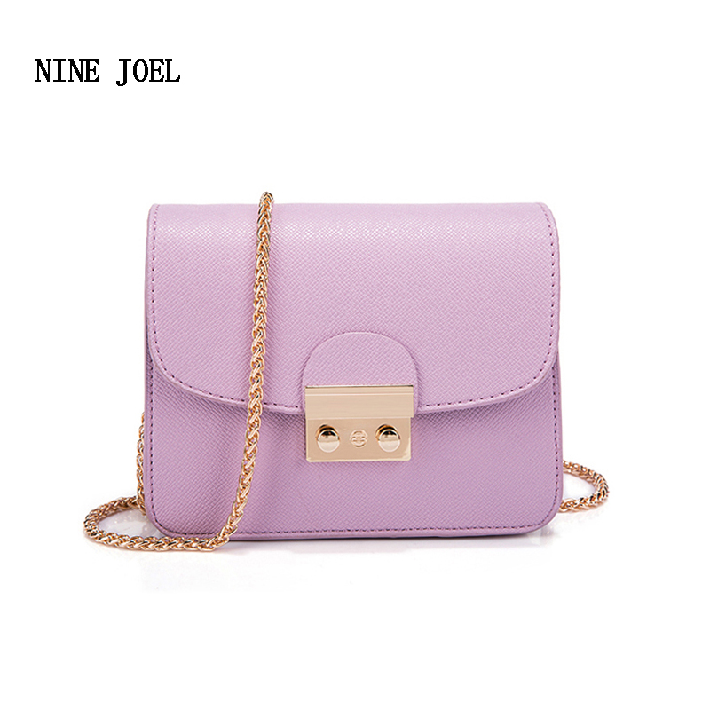 2018 Popular Purple Women Bag Handbag PU Leather Womens Shoulder Crossbody Bags For Ladies Small Handbags Purse Bags Bolsos<br>