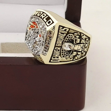 Who Can Beat Our Rings, High Quality Super Bowl 1997 Denver Broncos Replica Men World Championship Ring with Wooden Boxes(China)