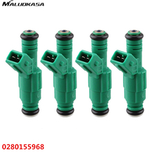 MALUOKASA 4Pcs Car Fuel Injector 42lb EV1 For Bosch Chevrolet Pontiac Ford TBI LT1 LS1 440cc 0280155968 For BMW Auto Accessories(China)