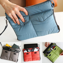 Multifunctional Portable Soft Tablet Carry Bag Zip Nylon Organizer Case for iPad smt88
