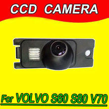 Feng Yi CCD car parking camera rear view back up reverse for VOLVO XC V70 XC70 S60 S80 waterproof night vision HD(China)
