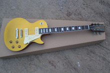 free shipping wholesale custom shop 1956 goldtop electric guitar LP guitar with P90 pickups
