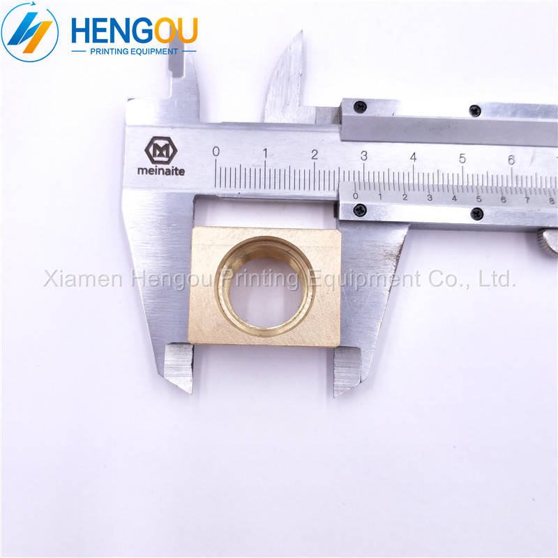 1 piece Pull gauge copper sets G2.072.051 for SM52 PM52 offset printing machine Size 28x22x15mm