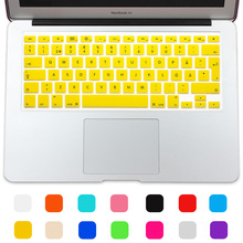 Hot Swedish Version Silicone UK/EU layout Keyboard Protector Stickers Skin For Macbook Air 13 Pro 13 15 17 Retina Keyboard Cover