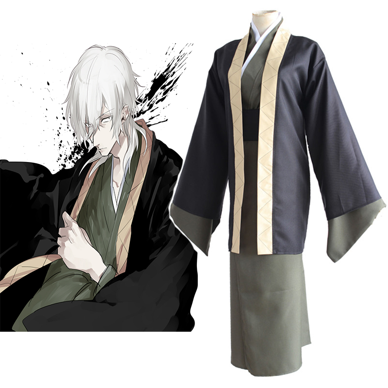 Hot Anime Bungo Stray Dogs Cosplay Costumes Yukichi Fukuzawa Uniform Cosplay Costumes Halloween Carnival Party Cosplay Costumes