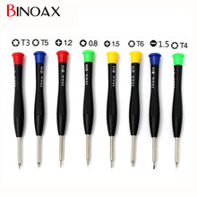 Binoax Professional 8 in 1 Precision Mini Pocket Screwdriver Repair Tools Set For iPhone Clock Cell Phone PC #P00280#(China)