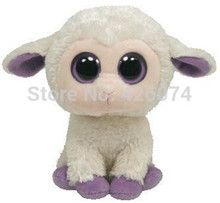 Big Eyes Stuffed Animals Clover the Lamb Plush Kids Plush Toys For Children Gifts 15CM