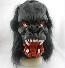 Halloween Props Costumes Dress Carnival Parties Full Face Cosplay Black Gorilla Mask Horror Masquerade Adult Ghost Mask