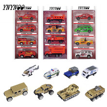 YNYNOO 4pieces/set 24 Types Scale 1:64 Diecast Collector mini alloy Little vehicle Car Model Classic Toy Mini Best gifts for boy